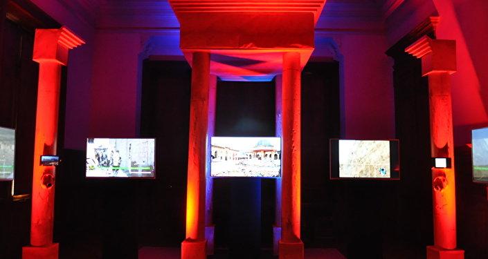 Muestra 'Palmira en Villa Ocampo', inaugurada en la provincia de Buenos Aires y organizada por la Unesco