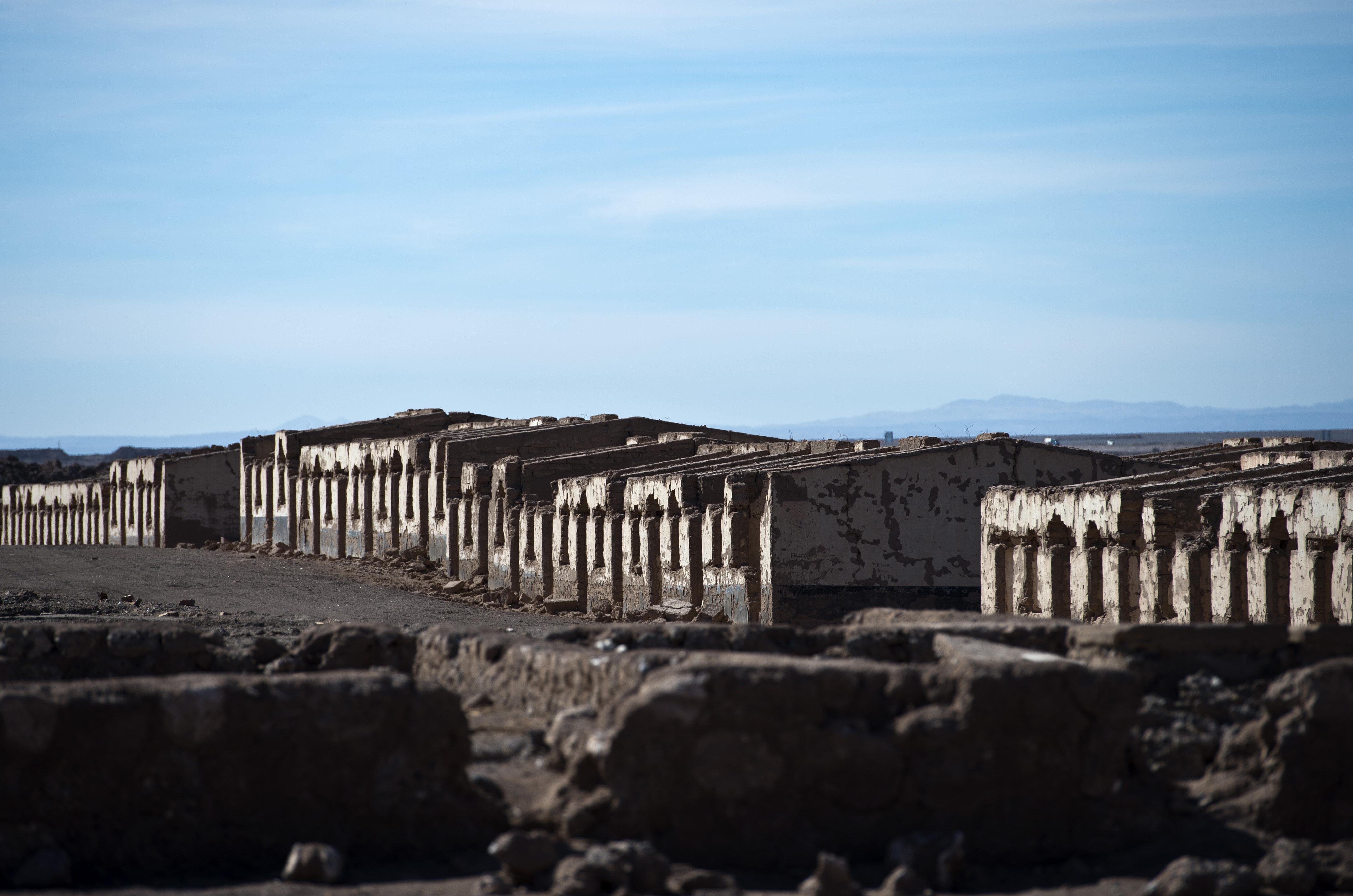 Poblado abandonado de Puelma, Chile