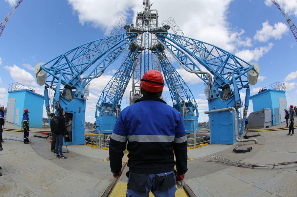 El primer lanzamiento desde el cosmódromo Vostochni