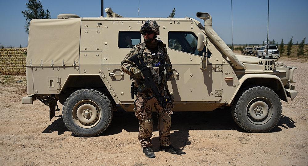 Soldado de Nato en Afganistán
