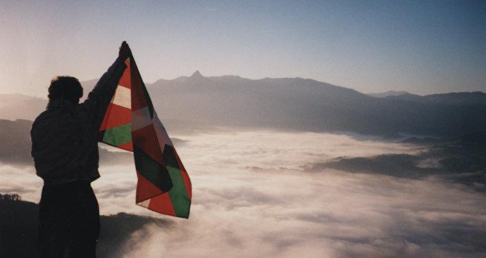 La ikurriña, bandera del País Vasco
