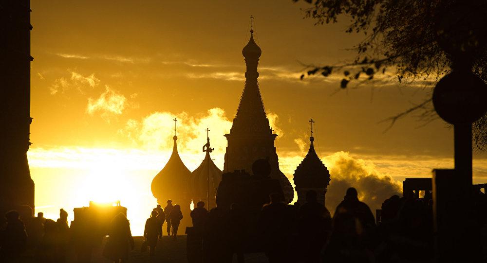 La Plaza Roja en la capital rusa, Moscú