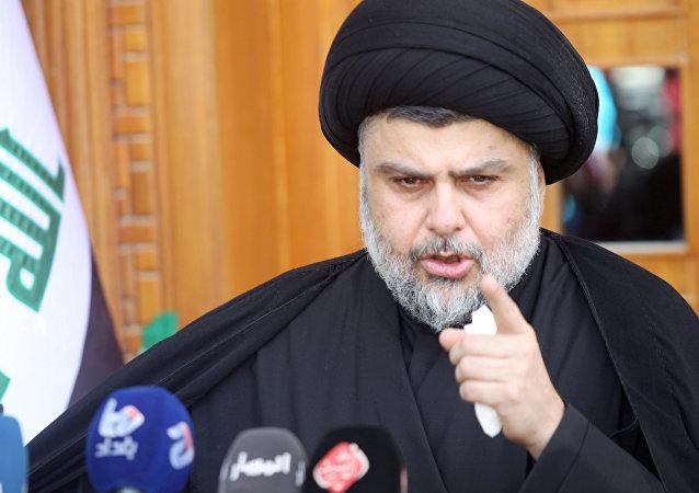 Moqtada al-Sadr, líder chií iraquí