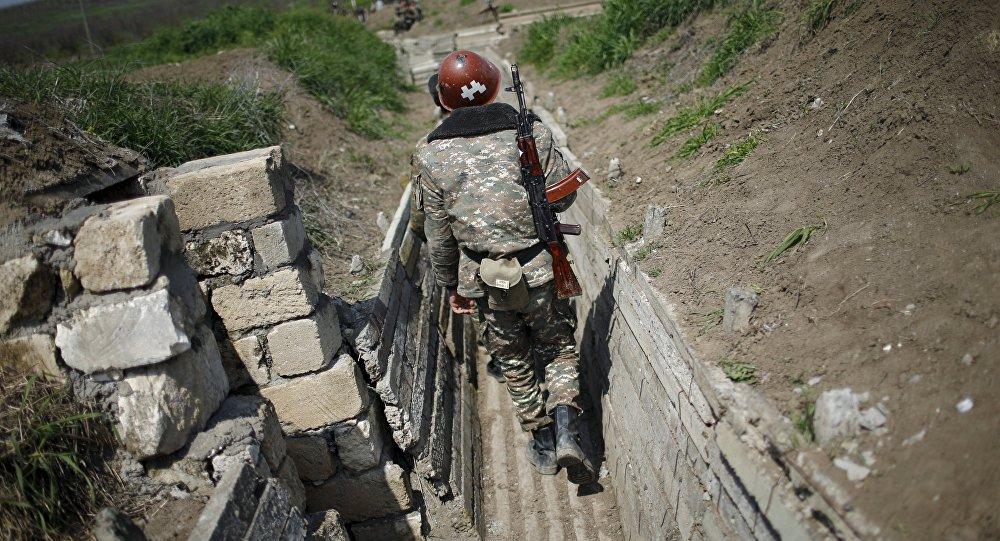Un militar armenio (imagen referencial)