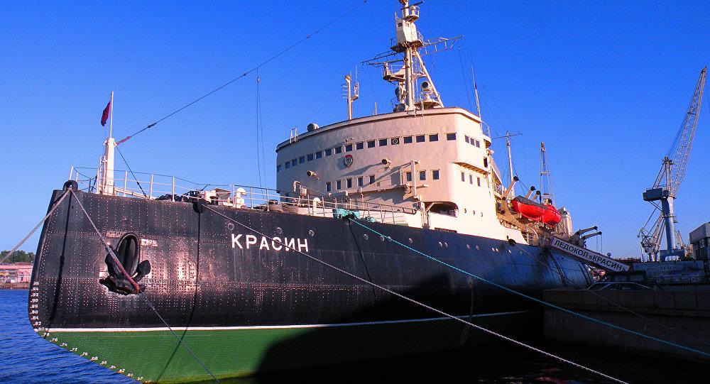 El legendario rompehielos museo Krasin