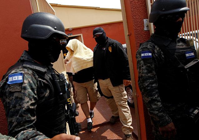 Sospechoso del  asesinato de  Berta Cáceres
