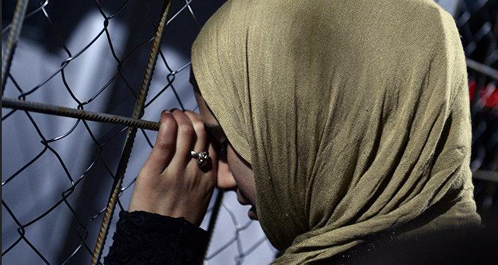 Mujer siria