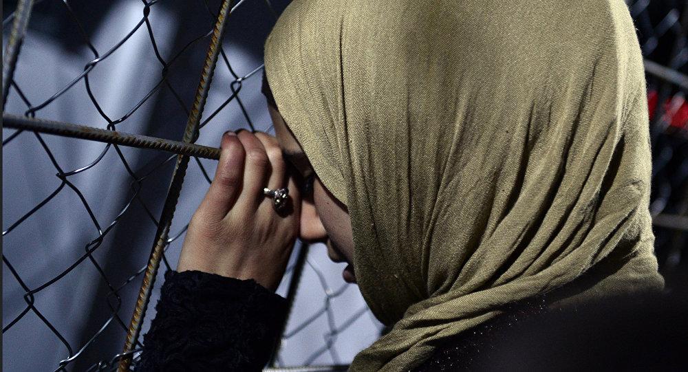 Mujer siria (Archivo)