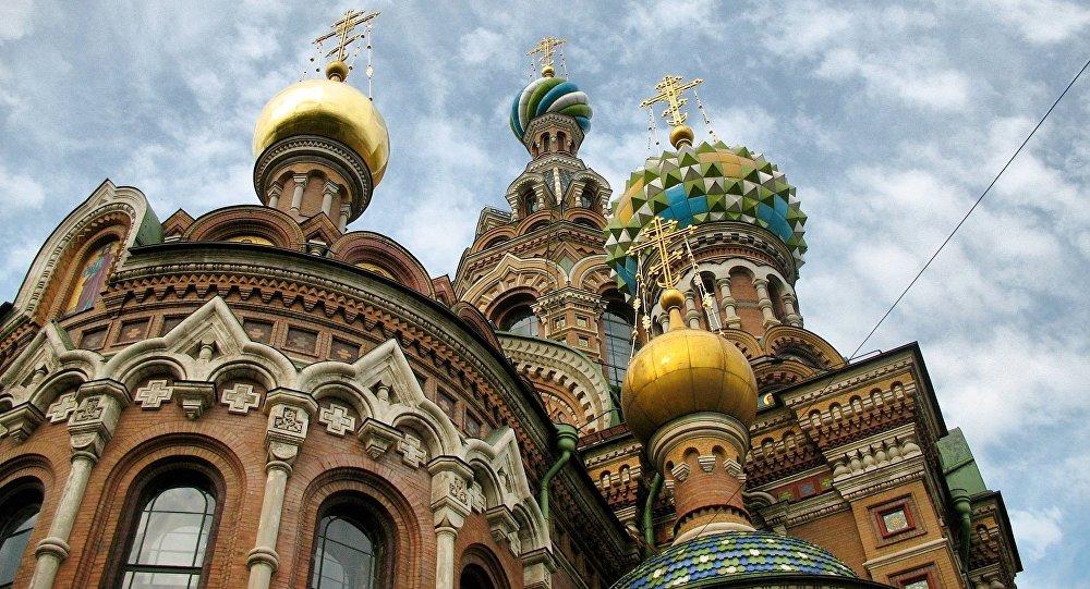 La Iglesia del Salvador sobre la sangre derramada, en San Petersburgo