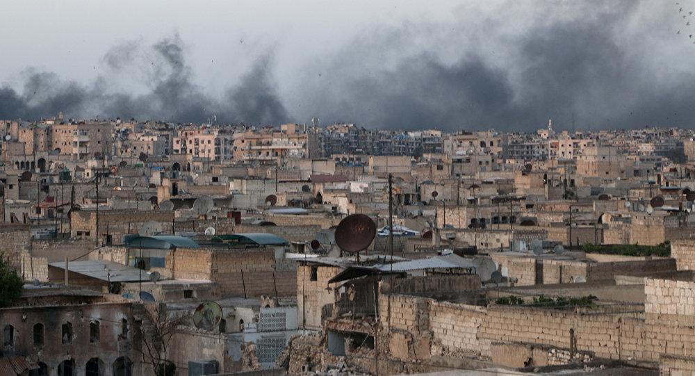 Combate en Alepo (Archivo)