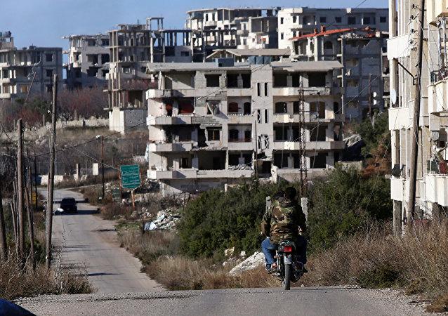 Situación en Latakia, Siria (archivo)