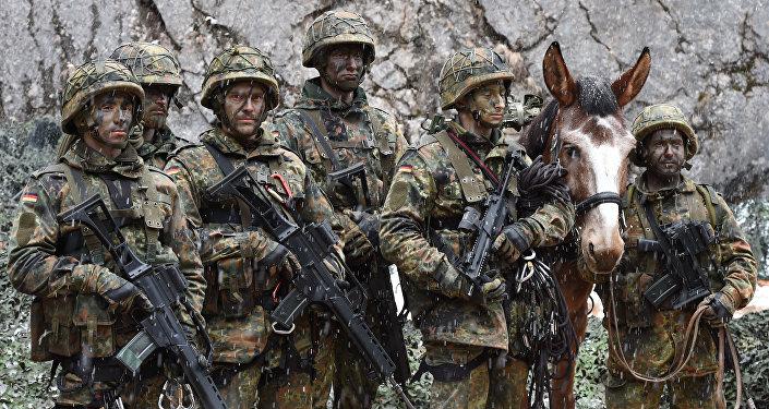 Soldados de la `Bundeswehr`