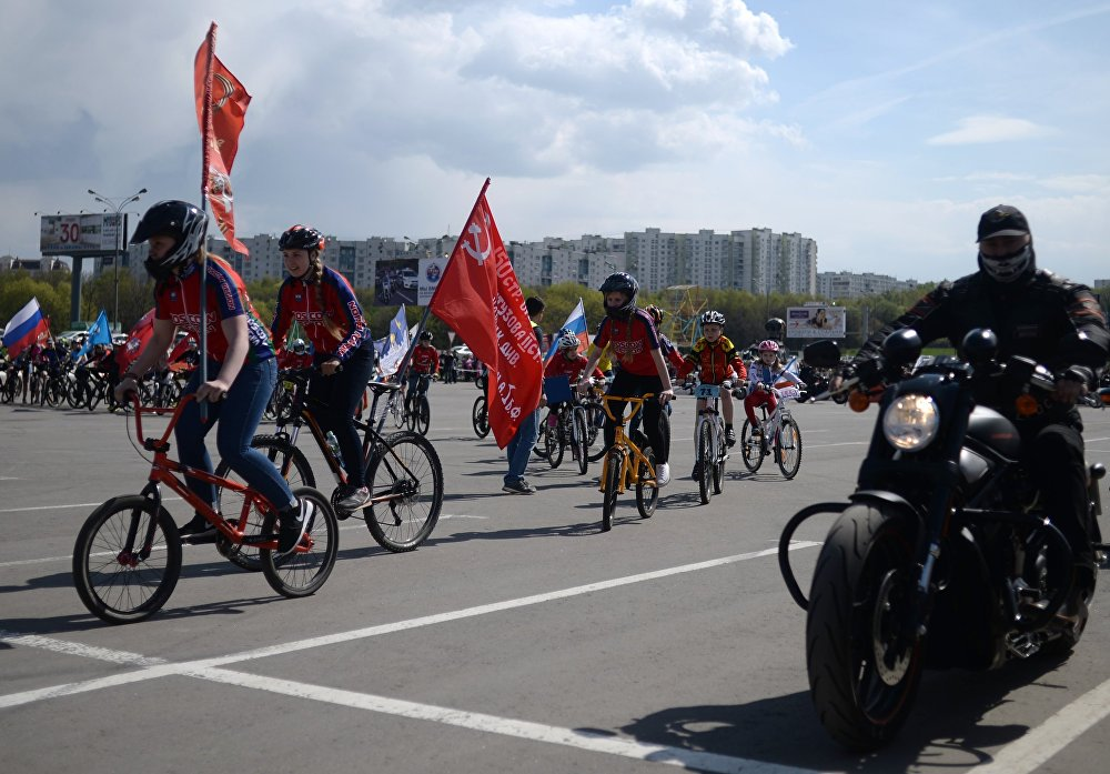 Comienza la temporada de motociclismo en Moscú