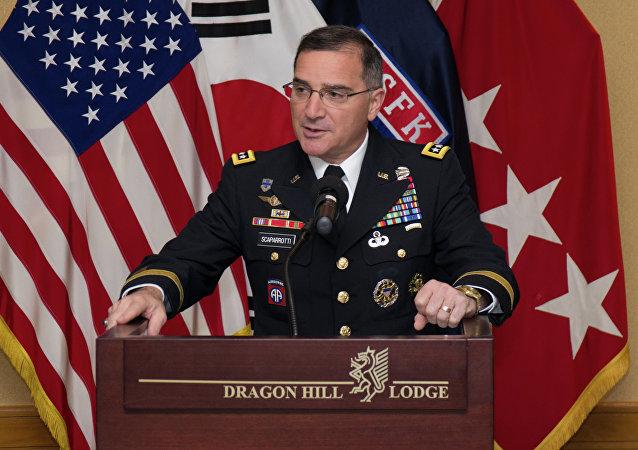 Curtis Scaparrotti, general estadounidense, nuevo comandante en jefe de la OTAN