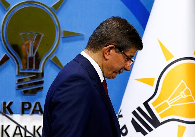 El primer ministro turco Ahmet Davutoglu
