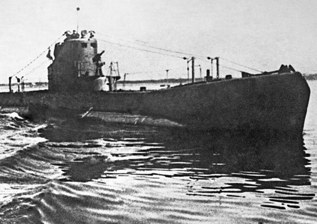 Un submarino de la clase Schuka, imagen referencial