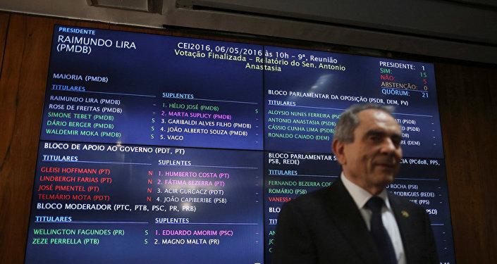 El proceso de votación en el Senado de Brasil