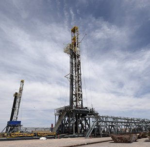 Plataformas de perforación de petróleo de empresa YPF