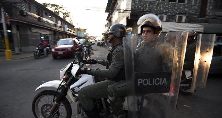 Policía de Venezuela (archivo)