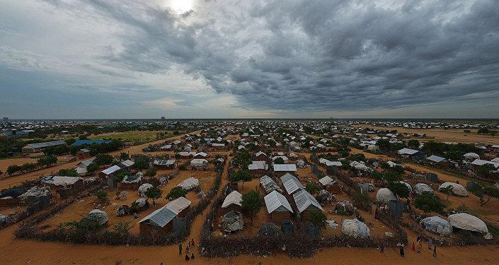 Campo de refugiados (archivo)