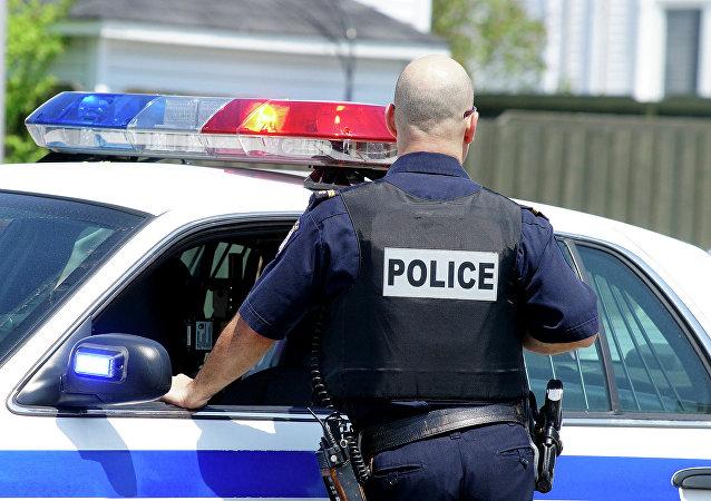 Oficial de policía en EEUU