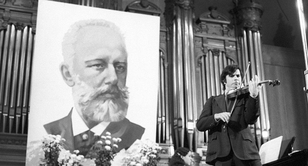 El retrato de Piotr Chaikovski