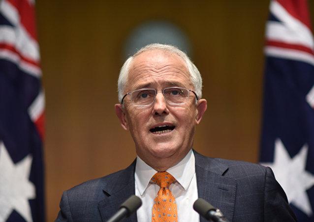 Malcolm Turnbull, primer ministro de Australia