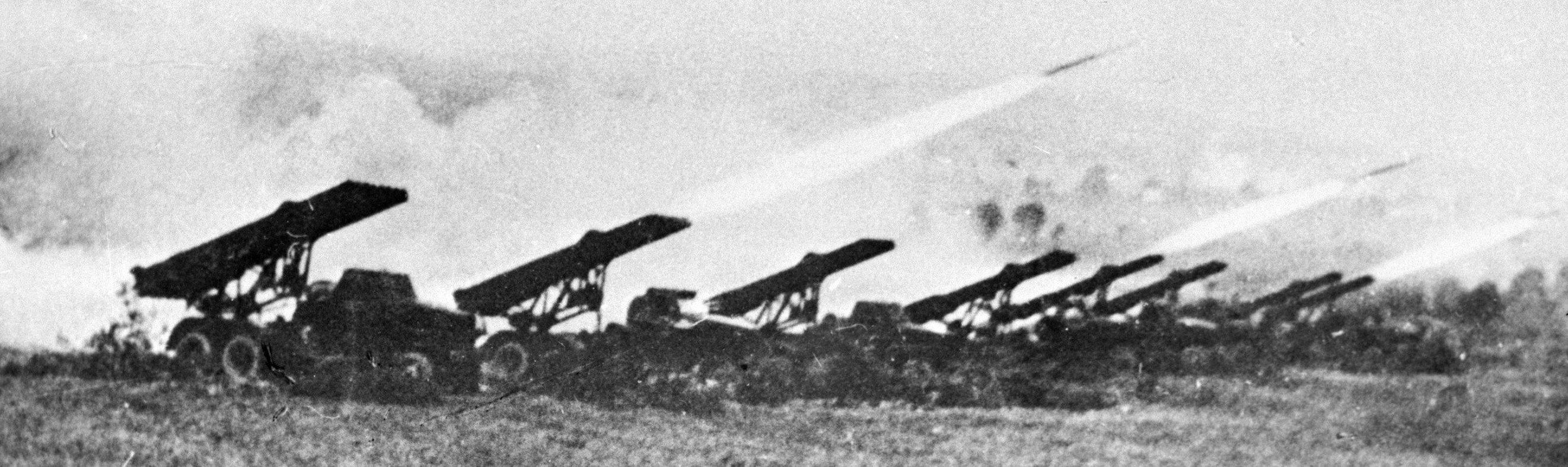 El sistema lanzamisiles soviético BM-13, la famosa Katiusha