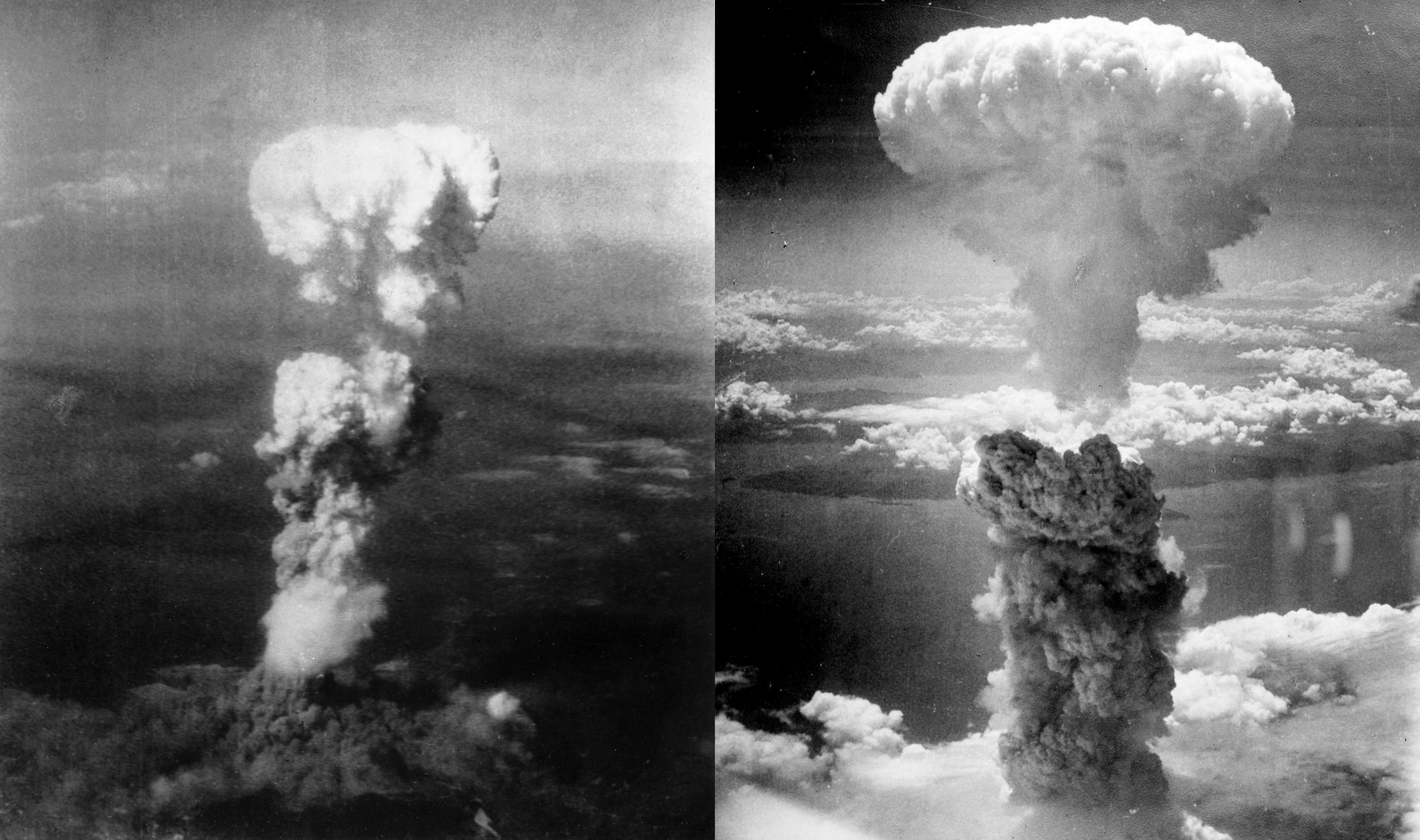 Los bombardeos atómicos de Hiroshima y Nagasaki de EEUU en 1945
