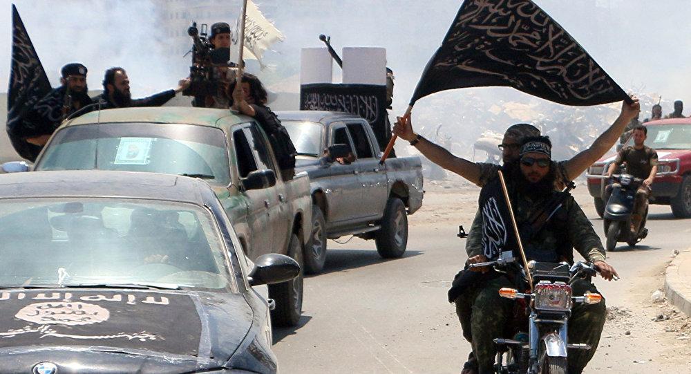 Terroristas del Frente al Nusra