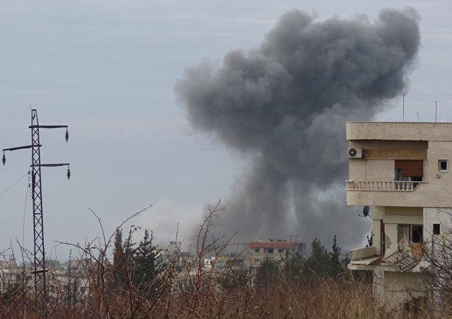 Situación en la ciudad siria de Idlib (archivo)