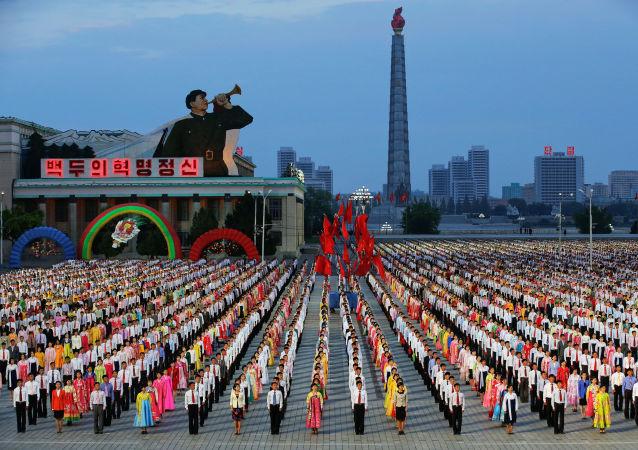 Impresionantes celebraciones en Pyongyang con motivo del VII Congreso del Partido del Trabajo de Corea (PTC)