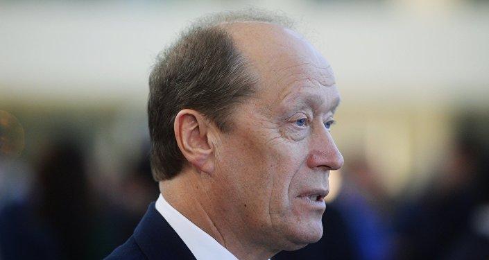 Alexander Veshnyakov, el embajador ruso en Letonia