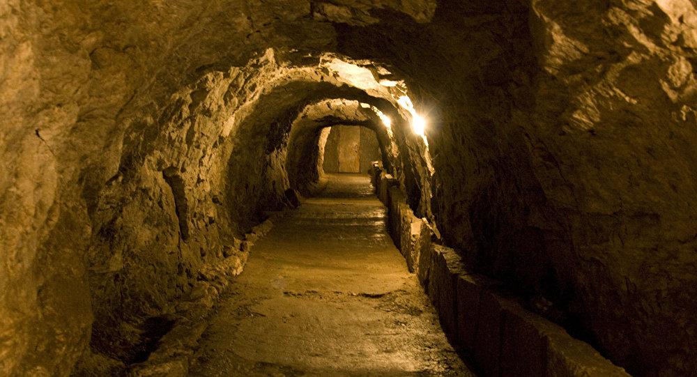 Una cueva en Rusia