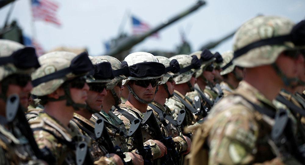Ejercicios militares conjuntos de Georgia y la OTAN (archivo)