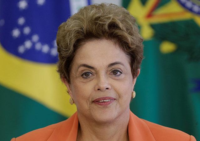 Dilma Rousseff, la presidenta suspendida de Brasil