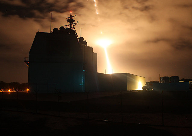 El sistema del defensa antimisiles Aegis Ashore