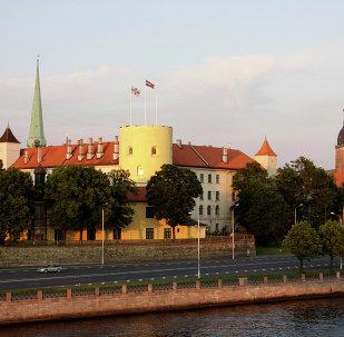 Riga, la capital de Letonia