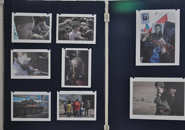Muestra fotográfica de la periodista argentina Susana Galperín en La Casa de Rusia en la ciudad de Buenos Aires