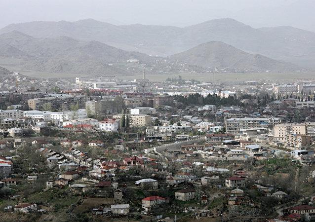 La región de Nagorno Karabaj