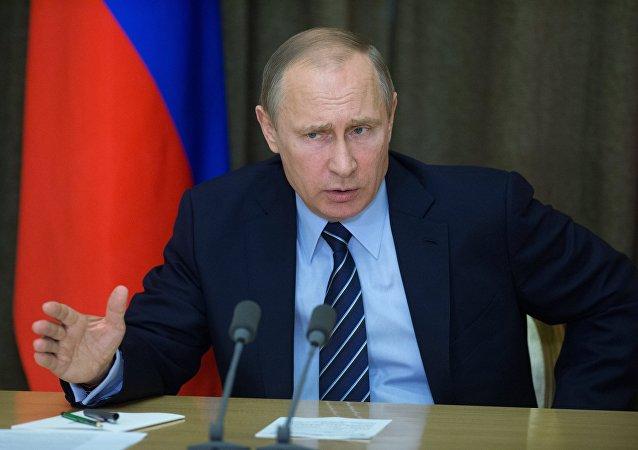 Presidente de Rusia, Vladímir Putin