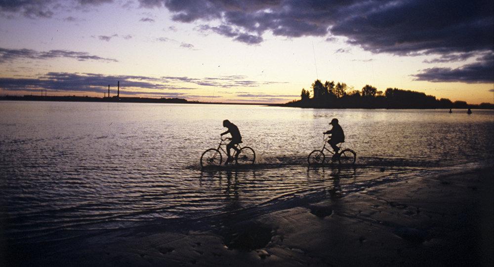 Siguiendo el curso del Volga… en una bicicleta