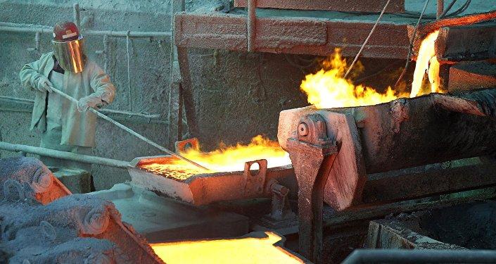 El procesamiento del cobre en Chile