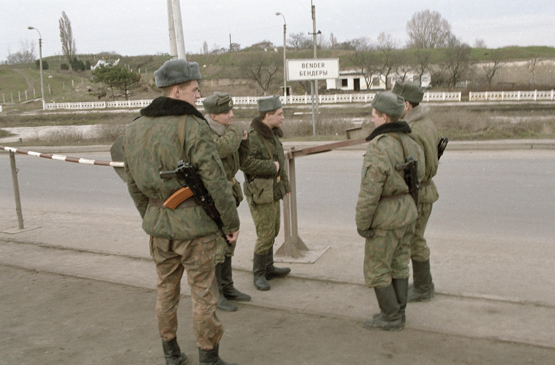 Tropas de interposición rusas en Transnistria