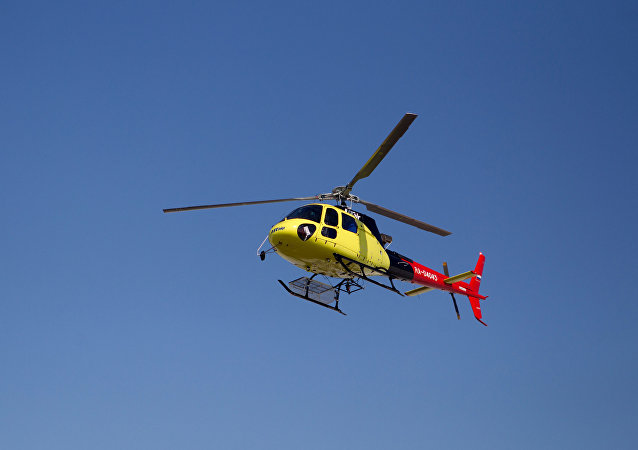 Helicóptero Eurocopter (archivo)