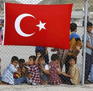 Campamento de refugiados en Turquía