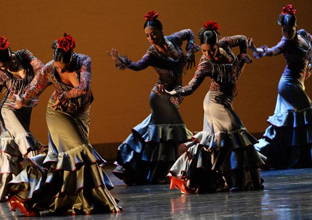 Flamenco en Moscú (archivo)