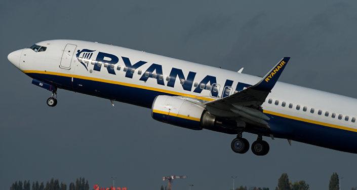 Avión de la compañía aérea Ryanair