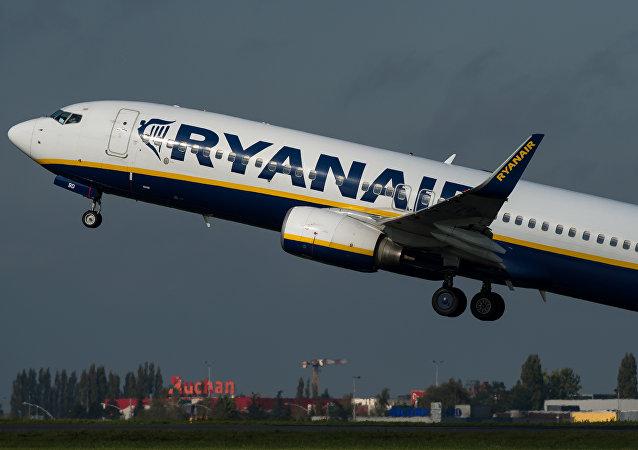 Avión de la compañía aérea Ryanair (archivo)