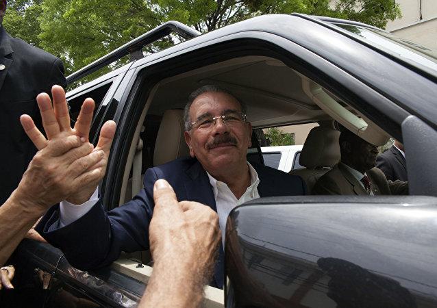 Danilo Medina, el actual presidente de la República Dominicana